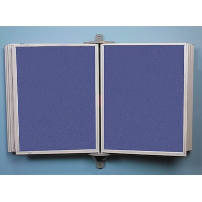 Best-Rite® Full View Swinging Hook & Loop Fabric Panels