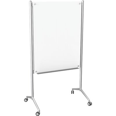 Best-Rite® Enlighten Mobile Glass Whiteboard