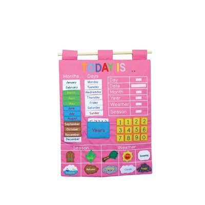 Alma's Design Today is Pink Wall Chart
