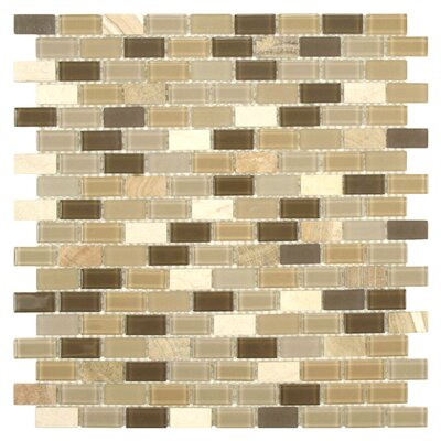Ambit Glass and Stone Mosaic Tile in Crest