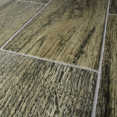 "EliteTile Savanah 6"" x 18""  Porcelain Floor and Wall Tile in Oro"