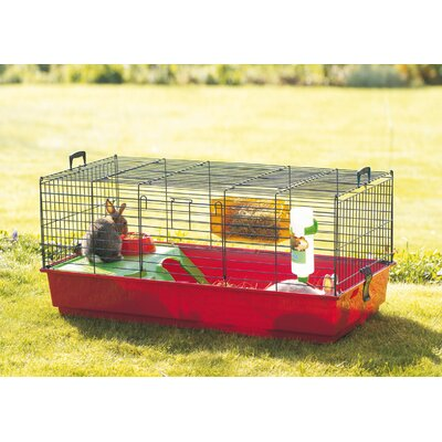 Small animal hutches cages buy online from wayfair uk for Simple guinea pig cage