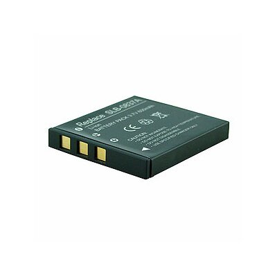 Denaq New 600mAh Rechargeable Battery for SAMSUNG Digimax Cameras