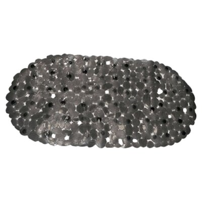 <strong>Carnation Home Fashions</strong> Pebbles Vinyl Rock Look Bath Tub Mat
