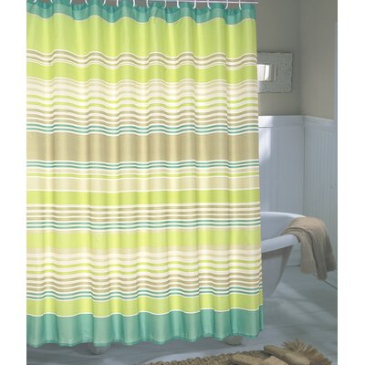 Brighton Extra Wide Polyester Fabric Shower Curtain
