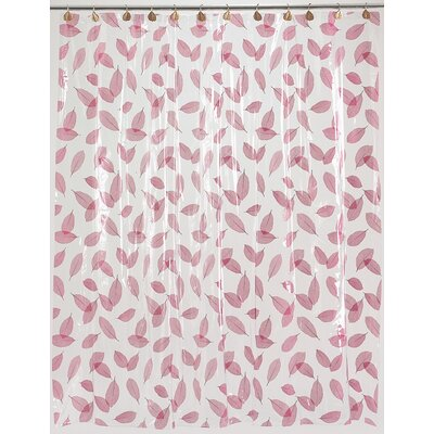 Carnation Home Fashions Autumn Leaves Vinyl Shower Curtain