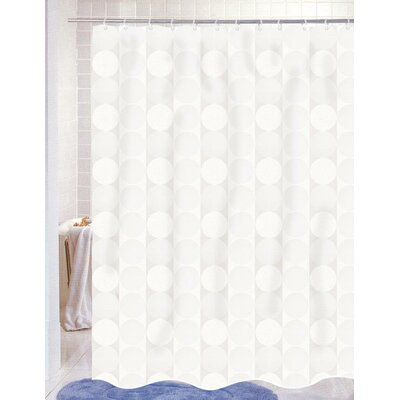 Jacquard Polyester Fabric Shower Curtain
