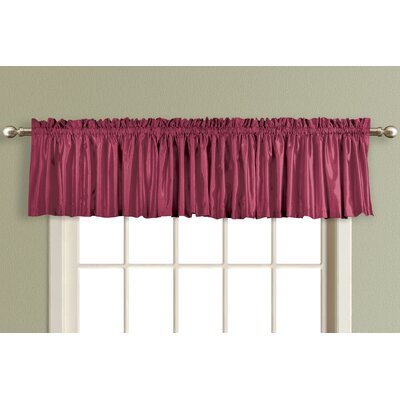 United Curtain Co. Lincoln Lined / Interlined Curtain Valance