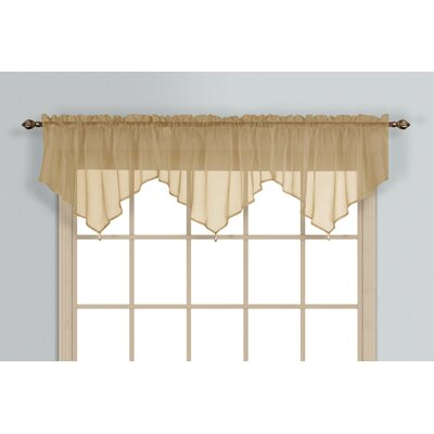 United Curtain Co. Monte Carlo Ascot Curtain Valance