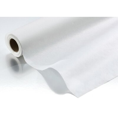 Graham Medical Chiropractic Crepe Headrest Table Paper Roll in White (Case of 12)