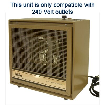 TPI Portable Dual Heat 13,652 BTU Fan Forced Heater