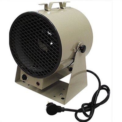 TPI Fan Forced Utility Portable Unit Electric Space Heater