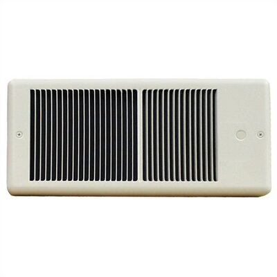 TPI Low Profile6,826 BTU 208 Volt 9.6 Amp Fan Forced Wall Electric Space Heater