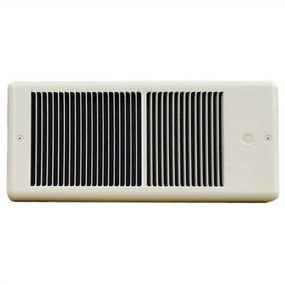 TPI Low Profile 120v Fan Forced Wall Heater w/ Wall Box