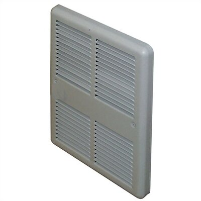 TPI Economical Fan Forced Electric Wall Space Heater with Back Can