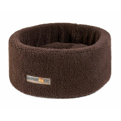 Alpha Pooch Siesta Round Nest Dog Bed