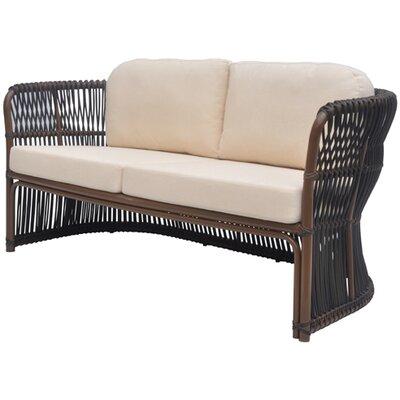 David Francis Furniture Tahiti Loveseat with Cushions