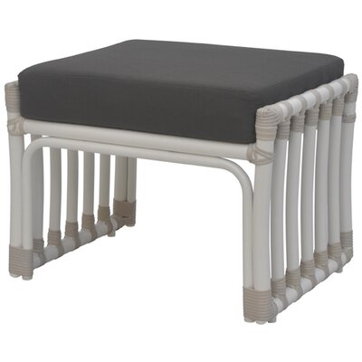 David Francis Furniture Laguna Ottoman with Cushion