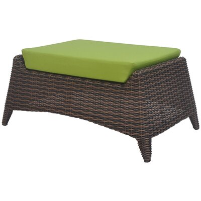 David Francis Furniture Rio Ottoman with Cushion