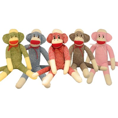 "Ozark Mountain Kids ""Monte"" Sock Monkey"