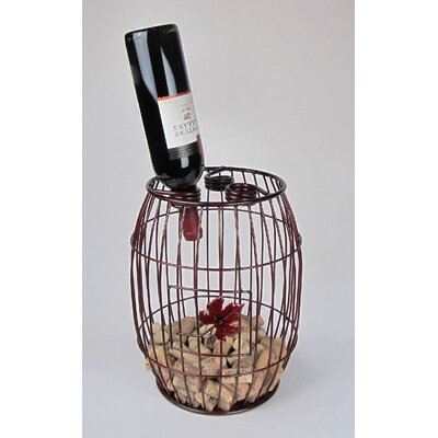Industrial Evolution 3 Bottle Tabletop Wine Rack