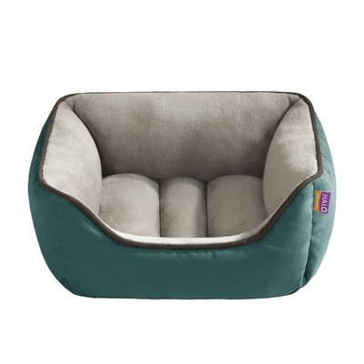 Halo Pets Reversible Rectangular Cuddler Bolster Dog Bed