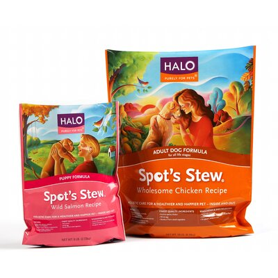 Halo Pets Wild Salmon Dry Dog Food