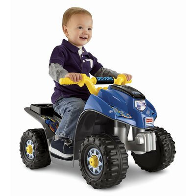 Fisher-Price Batman Lil' Quad 6V Battery Powered ATV
