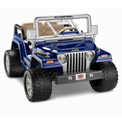 Fisher-Price Power Wheels Wrangler Rubicon 12V Battery Powered Jeep