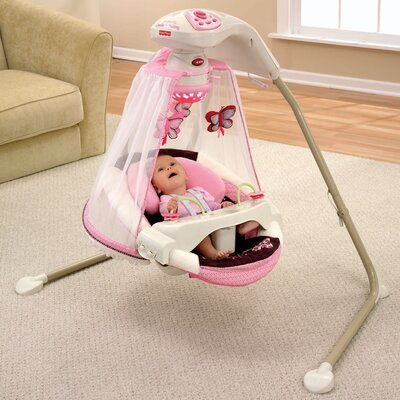 Fisher-Price Butterfly Cradle Swing
