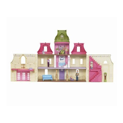 Fisher-Price Loving Family Dream Dollhouse with Caucasian Family