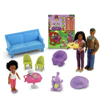 Fisher-Price Loving Family Dream Dollhouse with African-American Family