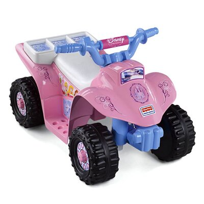 Fisher-Price Power Wheels Disney Princess 6V Battery Powered ATV