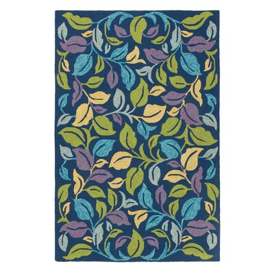 Moonlit Leaves Iris Rug
