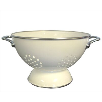 Reston Lloyd Calypso Basics 3 Quart Colander in White with optional Accessories