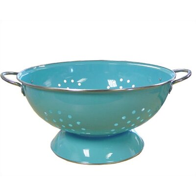 Reston Lloyd Calypso Basics 7 Quart Colander in Turquoise