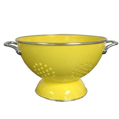Calypso Basics 3 Quart Colander in Lemon with optional Accessories
