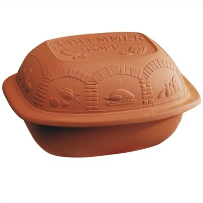 Reston Lloyd Schlemmertopf Clay Bakers Classic Glazed 2.25 -Qt. Schlemmertopf/Clay Cooker