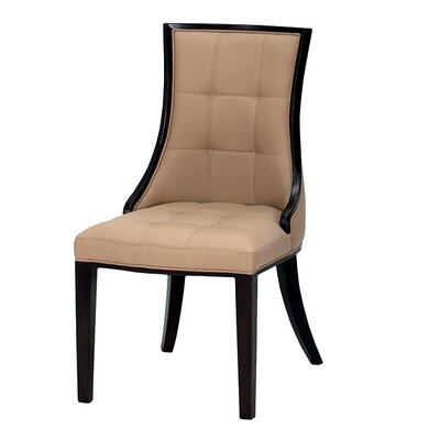 fli cassia solid wenge dining chair reviews wayfair uk. Black Bedroom Furniture Sets. Home Design Ideas