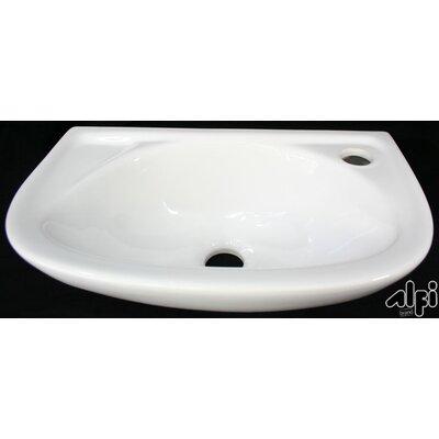 Small Wall Mount Bathroom Sink : Alfi Brand Small Wall Mount Bathroom Sink & Reviews Wayfair