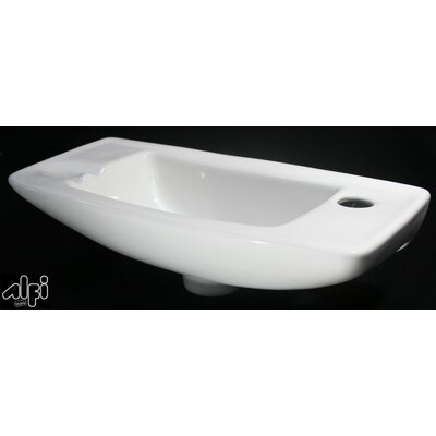 Small Wall Mount Bathroom Sink - AB103
