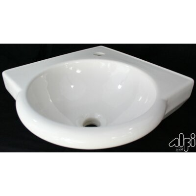 Corner Wall Mount Bathroom Sink - AB104