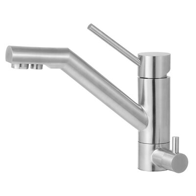 Alfi Brand Single Handle Single Hole Kitchen Faucet with Built