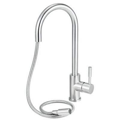 Single Handle Deck Mount Pull Down Kitchen Faucet