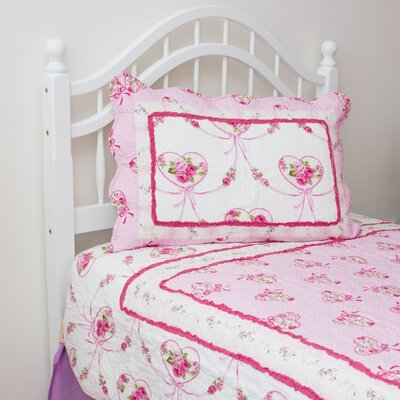 Ella 2 Piece Twin Quilt Set