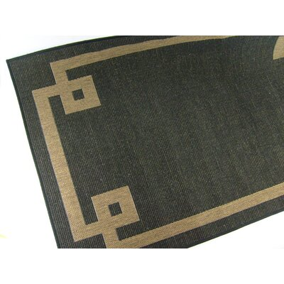 Borderline Black Rug