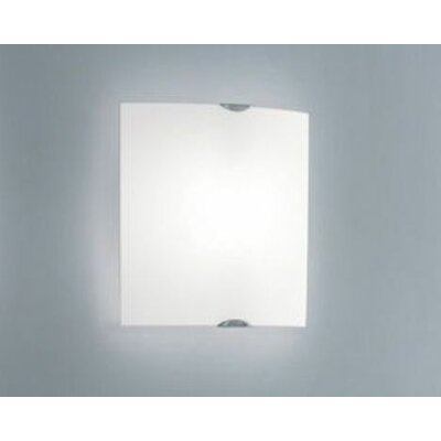 Leucos Selis Medium Slumped Wall/Ceiling Mount