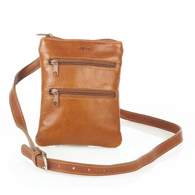 Aston Leather Women's Two Front Pocket Shoulder Bag