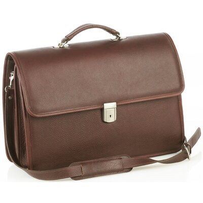 Oversized Multi-compartment Briefcase