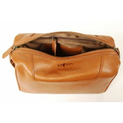 Men's Leather Toiletry Case
